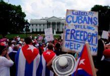 Cuba disturbios