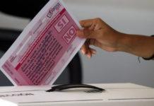 Así va el conteo de votos de la consulta ciudadana en tiempo real