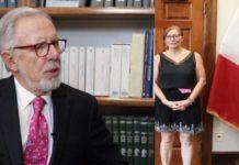 Joaquín López Dóriga se disculpó por criticar la vestimenta de Tatiana Clouthier
