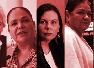 Mujeres que han encabezado las Mesas Directivas de las Cámaras del Congreso