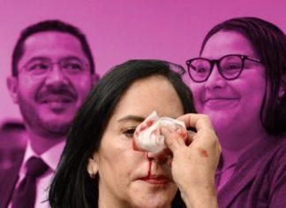 Batres y Citlalli Hernández inventan versiones sobre agresiones a Lía Limón
