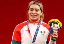 Aremi Fuentes da a México la tercera medalla