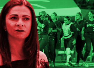 Ana Guevara regaña boxeadoras