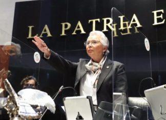 Sánchez Cordero presidenta Mesa Directiva