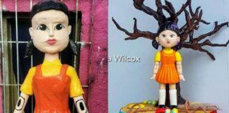 """Mexicanos crean piñata y pastel de """"El Juego del Calamar"""""""