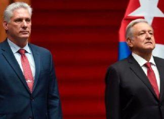 AMLO permitirá que el presidente de Cuba, Díaz Canel, emita un mensaje en el desfile militar de México