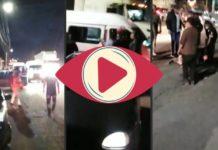 Pasajeros de una combi del Edomex casi linchan a asaltantes