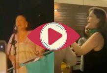 Así fue el Grito de Independencia de Isabel Arvide en Estambul (Video)