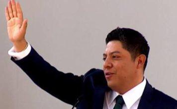 Ricardo Gallardo es nombrado titular de fuerzas policiales