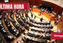 Cinco senadores saldrán de sus partidos para formar otro Grupo Parlamentario
