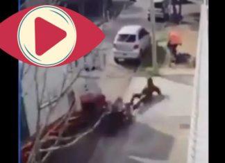 Camionero frustra asalto arrollando a los ladrones en Tultitlán