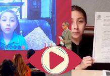 """Menor que apareció en conferencias de Gatellganó amparo para ser vacunada,""""No le quito la vacuna a nadie"""": Zulma responde a dichos de López-Gatell"""
