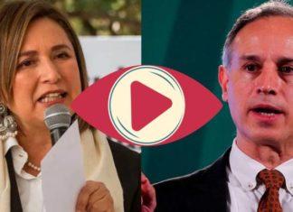 """""""Es un pendejo"""": Xóchitl Gálvez a López-Gatell por negar vacunas a menores"""