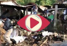 Otra tragedia, ahora en Chiapas, deslave deja un muerto y dos desaparecidos (Video)