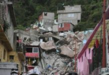 familias afectadas tras deslave del cerro del chiquihuite