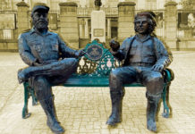 Estatuas Castro Guevara CDMX