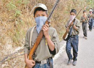 Crimen organizado recluta a niños