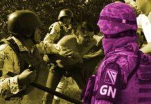 GN no quiere revelar información del uso de fuerza