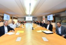 Líderes del PAN, PRI y PRD refrendan alianza