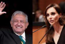 Lilly Téllez llama violador serial de la Constitución a AMLO, Este es el tuit de Lilly Téllez por el que AMLO canceló su visita el Senado
