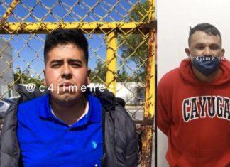 Detienen a par de ladrones en la alcaldía Tlalpan (Fotos)