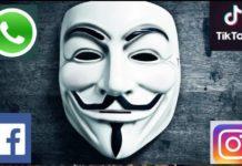 Anonymous se adjudicó caída de las redes sociales
