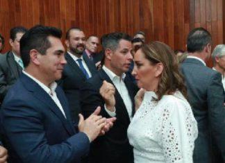 """Alejandro Moreno y Ruiz Massieu se enfrentan por """"Ley apagón de AMLO"""""""