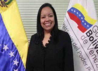 Viceministra de gas venezolana